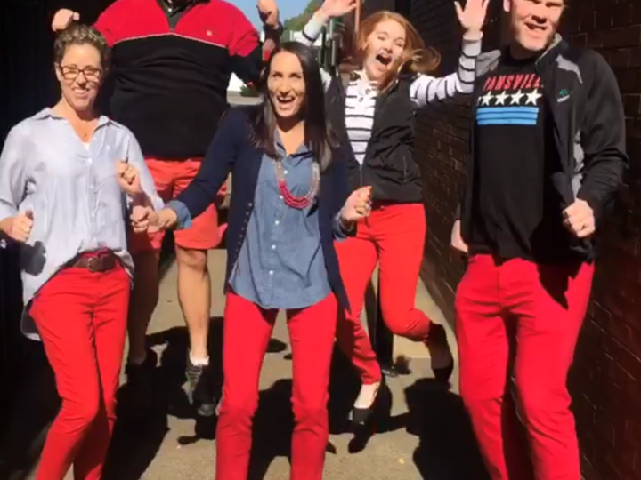 Red Pants Friday